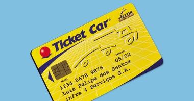 Cartão Ticket Car - 1998