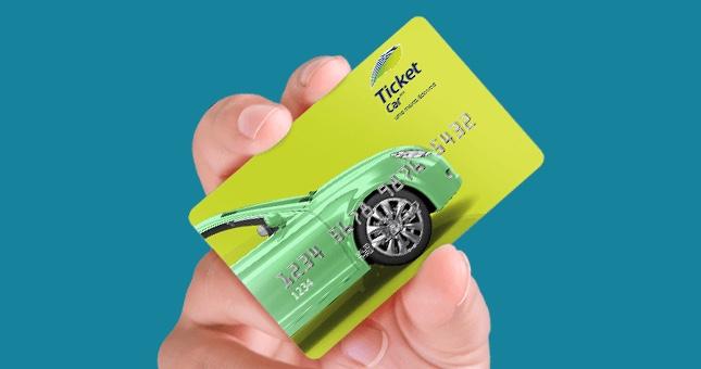 Cartão Ticket Car
