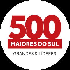 Selo 500 maiores do Sul