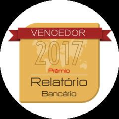 Selo 2017 Prêmio Relatório Bancário