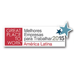Selo Great Place to Work América Latina 2015