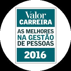 Selo Valor Carreira As melhores na Gestão de Pessoas 2016
