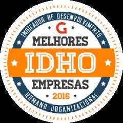 Selo IDHO Melhores Empresas 2016