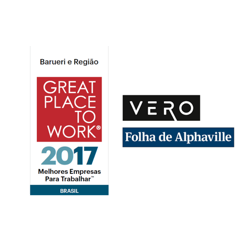 Selo Great Place to Work Vero 2017