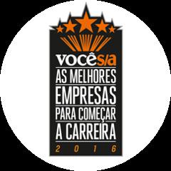 Selo Voce S/A As melhores empresas para começar a carreira 2016
