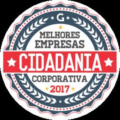 Selo Melhores Empresas Cidadania Corporativa 2017