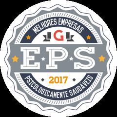 Selo EPS Melhores Empresas Psicologicamente Saudáveis 2017