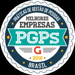 Selo Melhores Empresas PGPS 2016