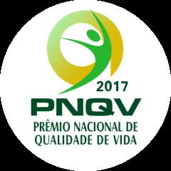 Selo PNQV Prêmio Nacional de Qualidade de Vida