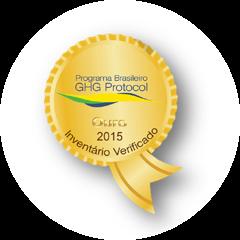Selo GHG Protocol Ouro 2015
